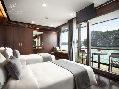 du-thuyen-orchid-Family-suite-with-balcony-cabin-(3)
